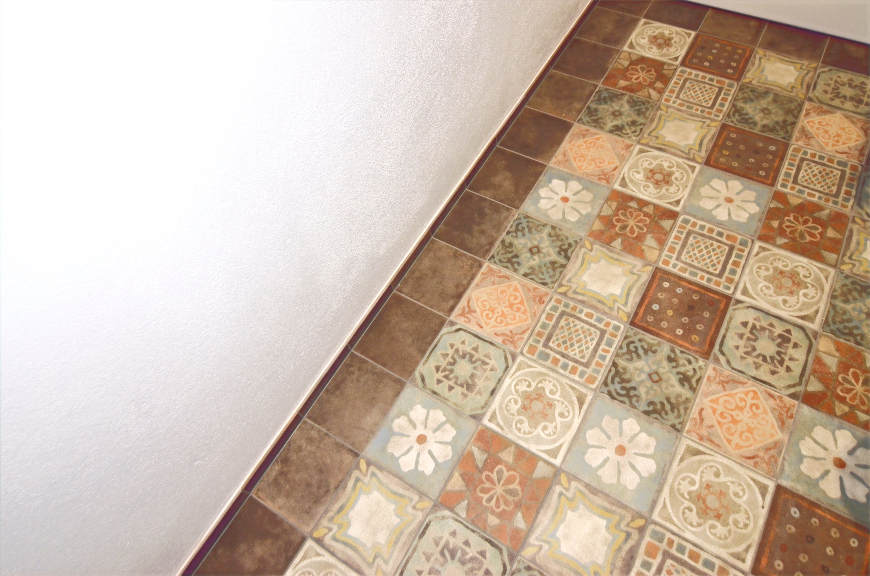 Bodenplatte Toilette