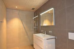 Neubau Dusche