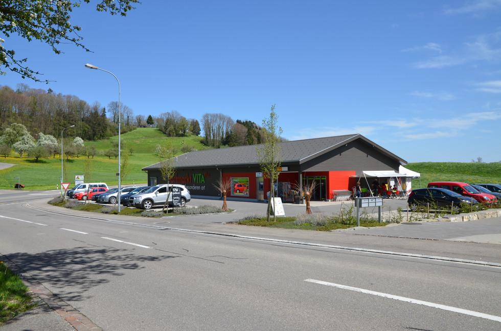 Neubau Dorfmarkt VITA plus, Wuppenau