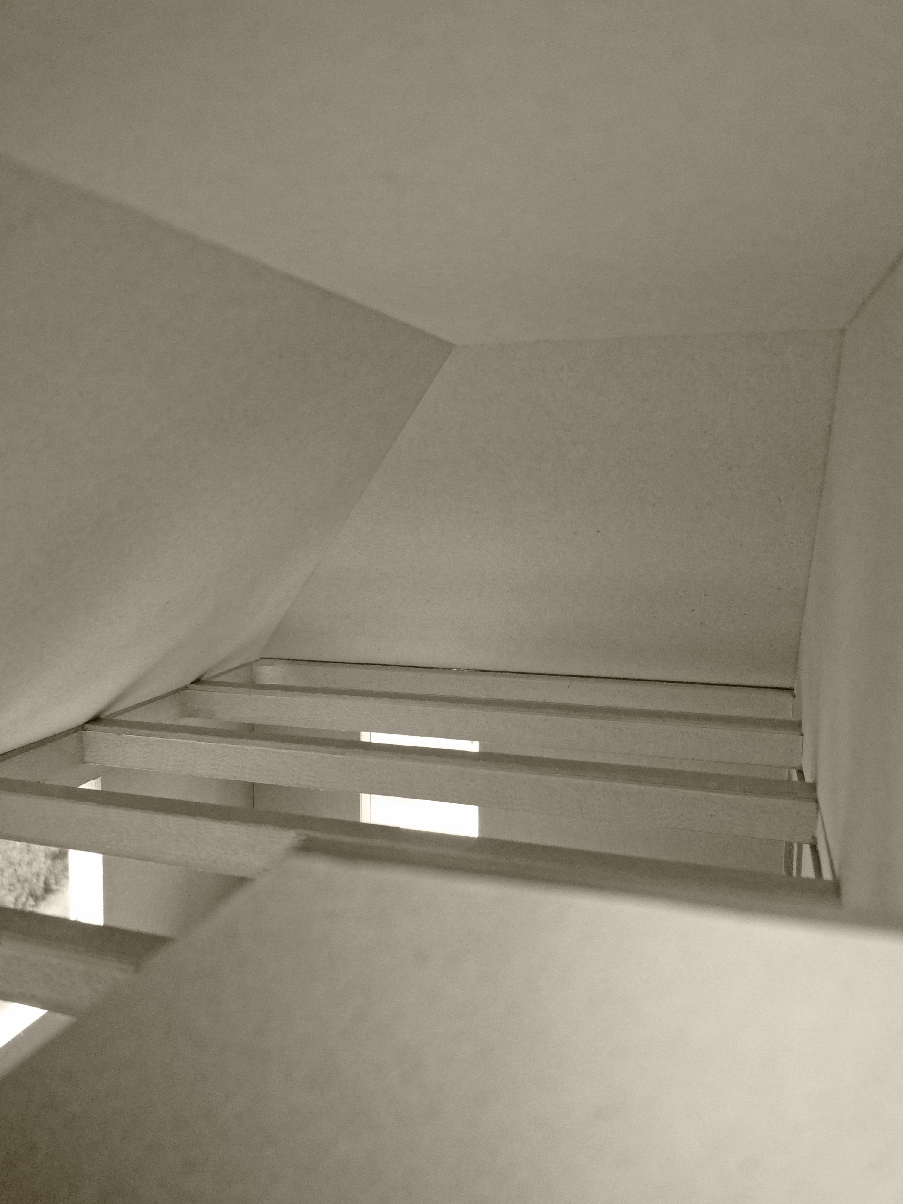 Modellfoto Luftraum ü. Büro (1.Projekt)