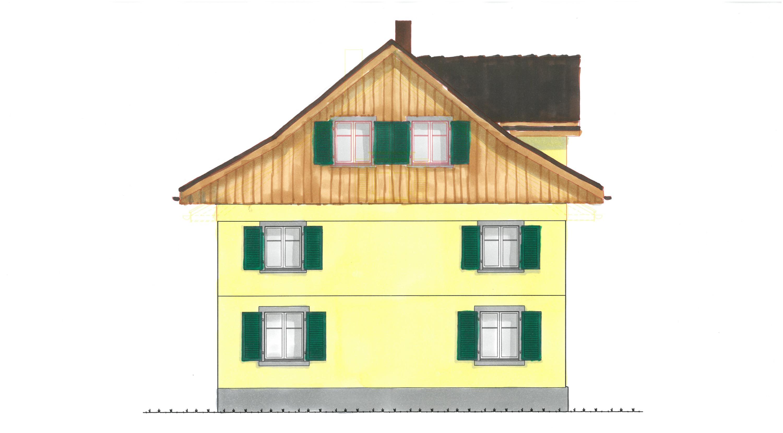 Farbstudie Fassade West