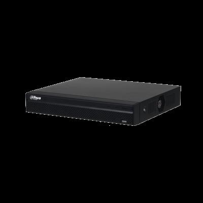 Dahua  DHI-NVR4108/4116HS-8P-4KS2  8/16 Channel Compact 1U 8PoE 4K&H.265 Lite Ne