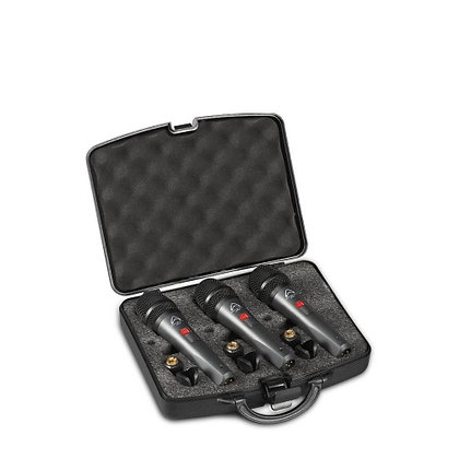 Wharfedale Pro DM5.0s 3-pack Microphones with Clips