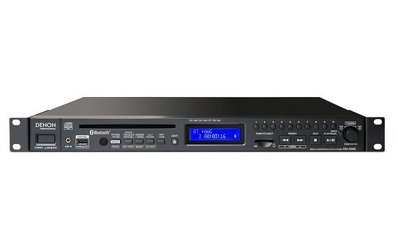 Denon Professional DN-300Z CD/Media Player with Bluetooth/USB/SD/Aux and AM/FM T