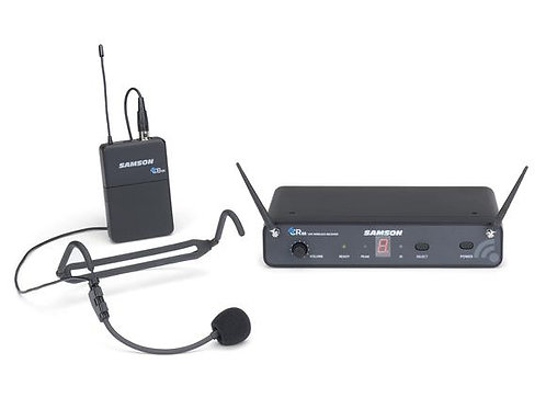 Samson Concert 88 Headset - 16-Channel True Diversity UHF Wireless System