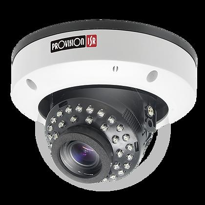 Provision 20M IR Vandal Proof Vari-Focal Lens Dome