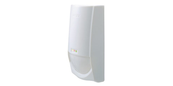 OPTEX CDX DAM indoor detector and microwave PIR with AM, 15 x 15m wide detector.