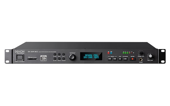 Denon Professional DN-300R MKll Solid-State SD/USB Audio Recorder