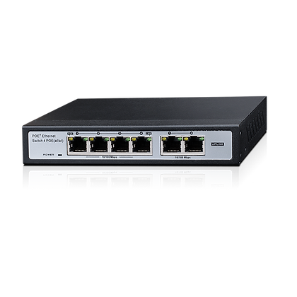 Provision   4+2-Port 10/100Mbps PoE Switch