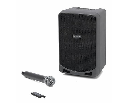 Samson Expedition XP106w - Rechargeable Portable PA with Handheld Wireless Syste