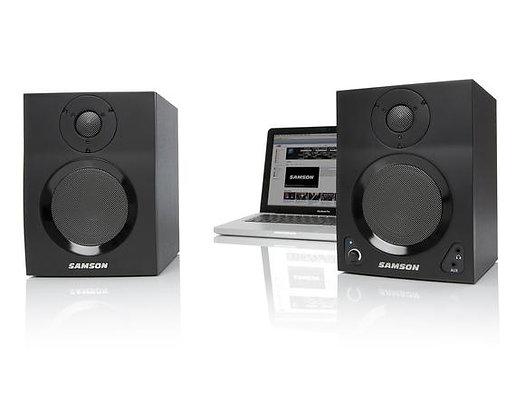Samson MediaOne BT4 - Active Studio Monitors with Bluetooth®