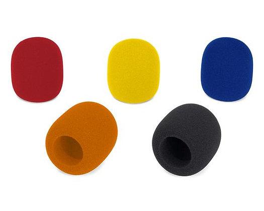 Samson WS1C - Microphone Windscreen 5-Pack (Colors)