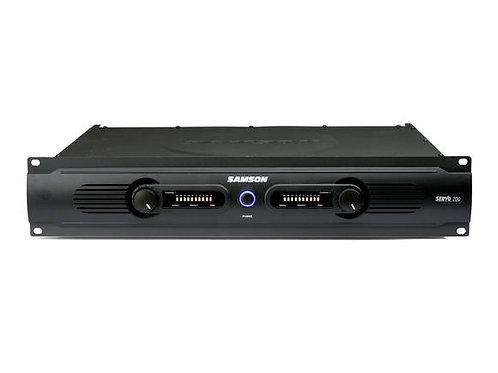 Samson Servo 200 - Power Amplifier