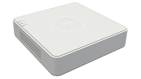 Hikvision 4-ch 1080p Mini 1U H.265 DVR