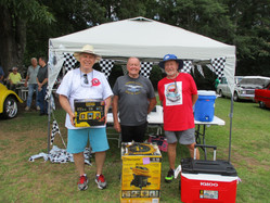 1st 2nd 3rd place winners car show 2019.