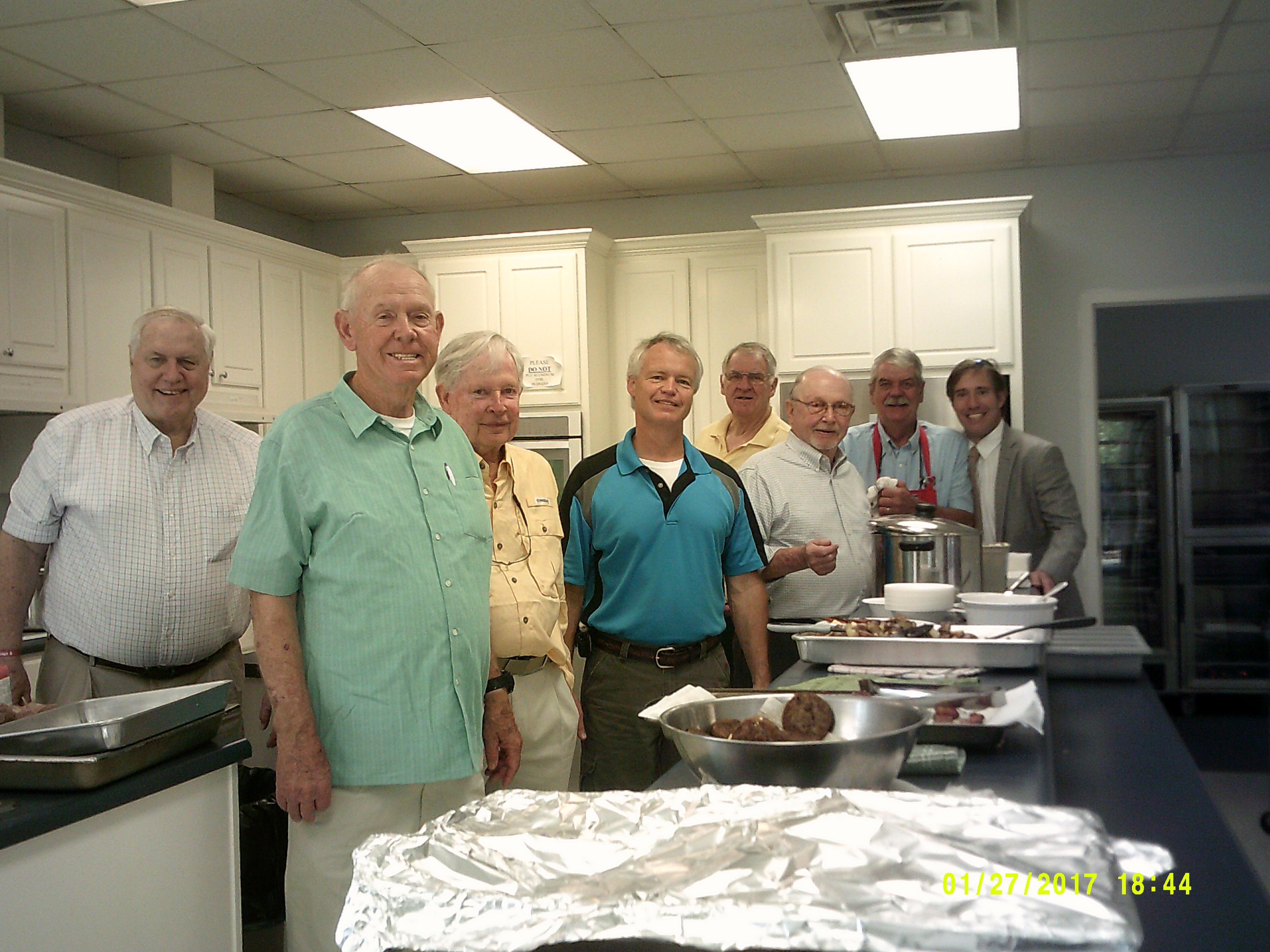 Deacons making Breakfast