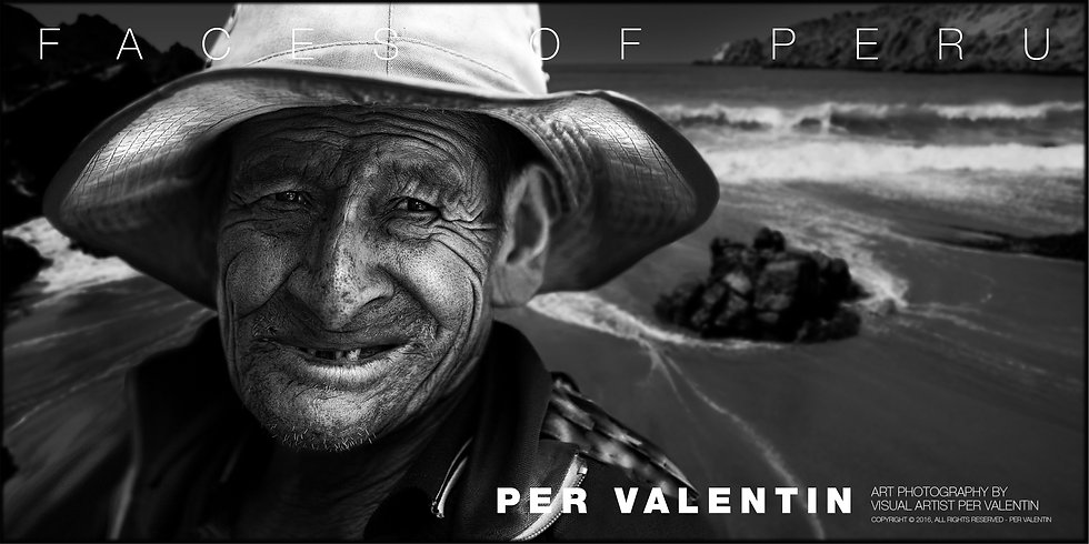 Poster - Faces of Peru, Fisherman