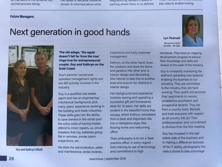 Next generation in good hands