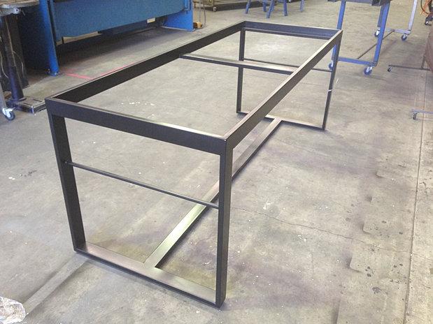 table frame satin black coffee table frames