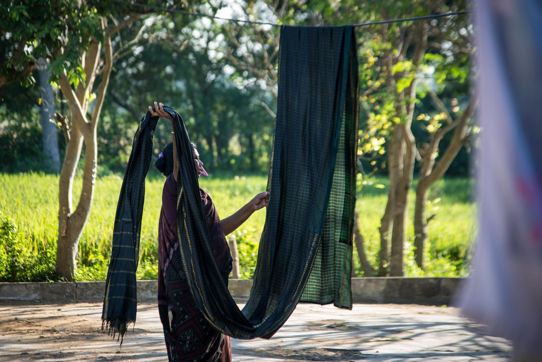 Hanging Sarees