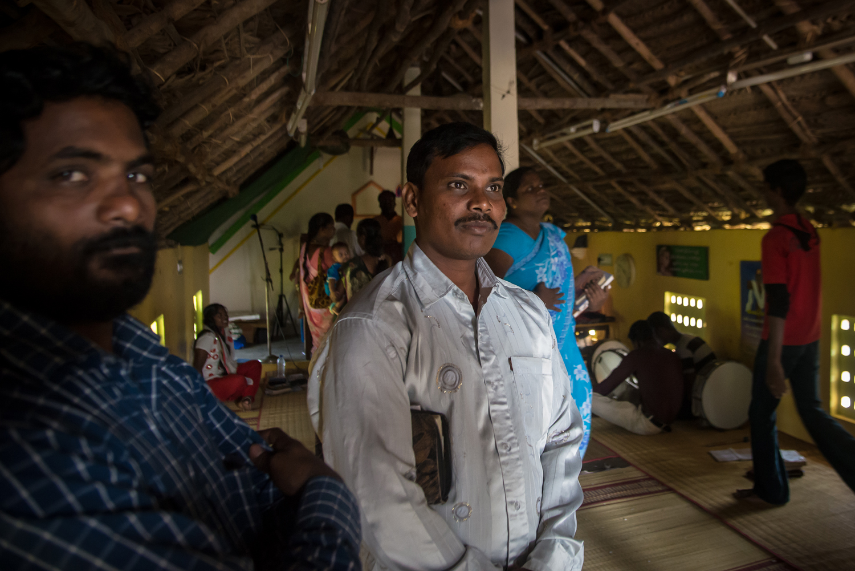 Church in Siruvanur Village