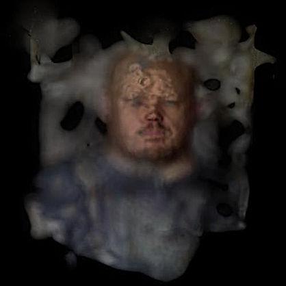 imperfect 3d scan self-portrait