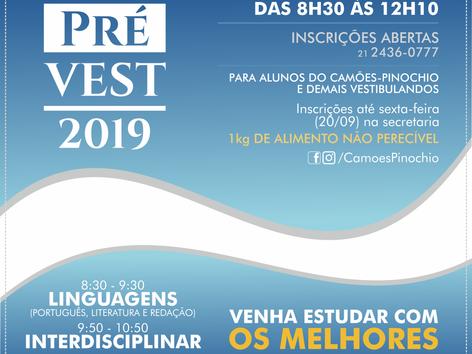 AULÃO | LINGUAGENS, FILOSOFIA E SOCIOLOGIA PREVEST CAMÕES-PINOCHIO 2019