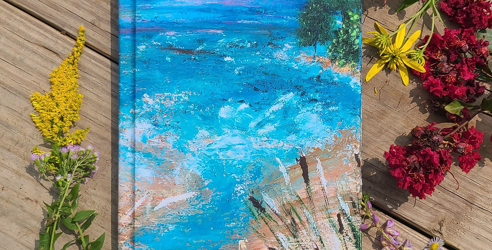 Seascape with Trees Journal