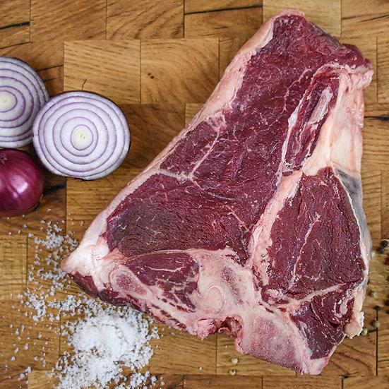 Porterhouse Steak vom Highland Cattle
