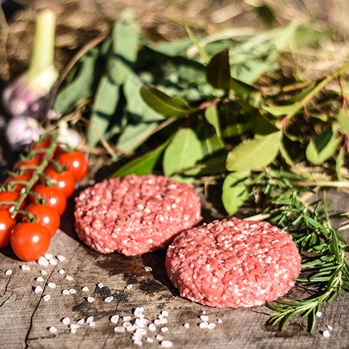 Burger-Patties vom Highland Cattle (2x150g)