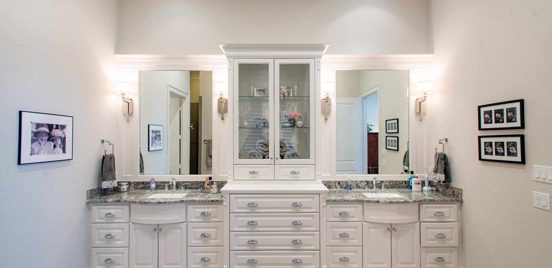 Acadian Home- Master Bath
