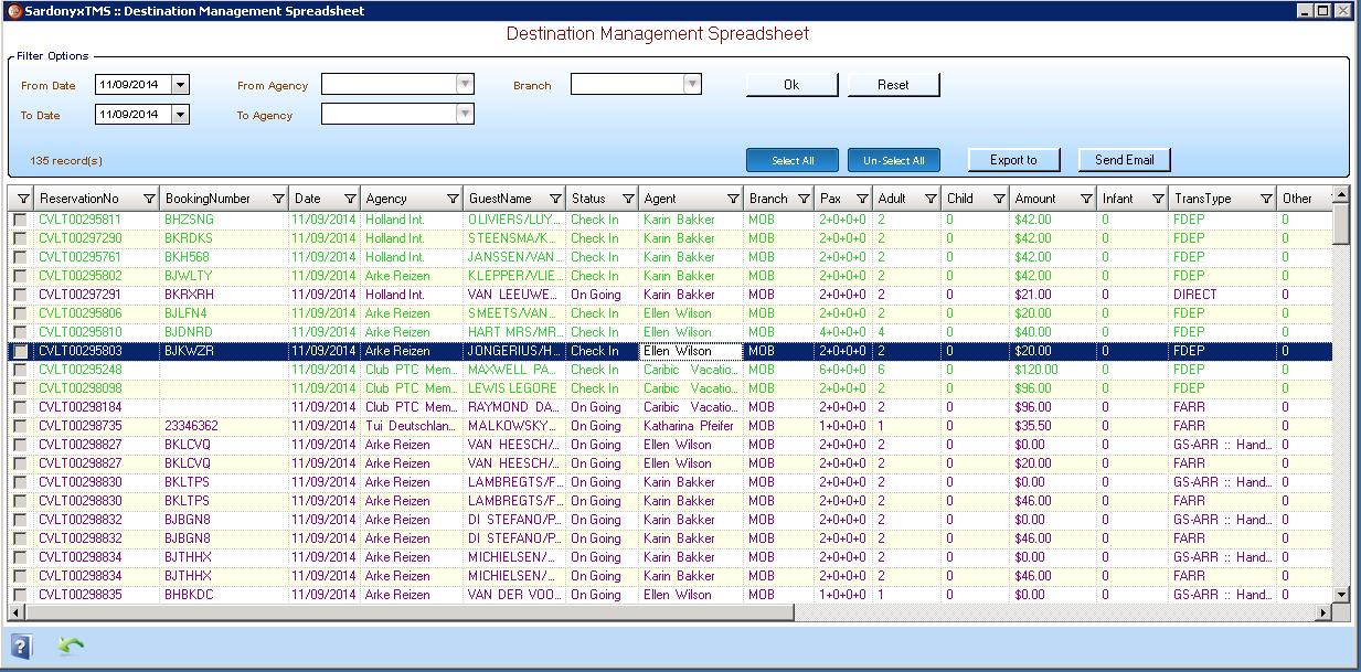 Transfers Workflow