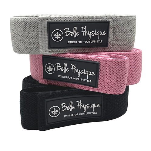 Belle Body Bands - Set of 3 (Light, Medium and Heavy)