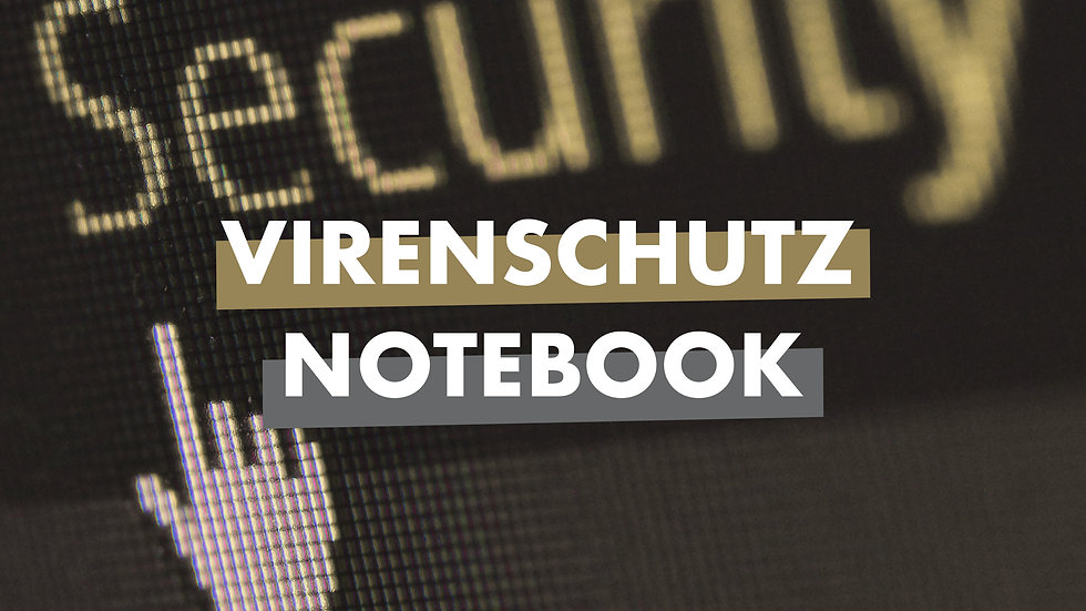 Virenschutz Notebook