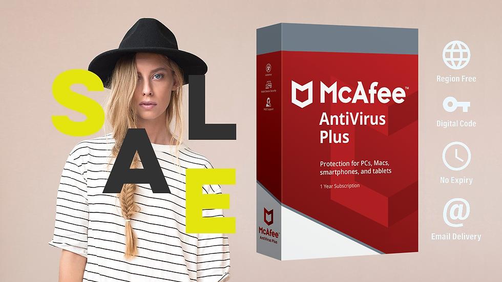 McAfee AntiVirus Plus 1 PC | 1 Jahr Digital Download