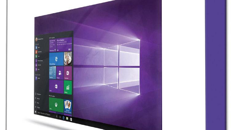 Microsoft Windows 10 Pro Vollversion + DVD | Global Code mit Aufkleber