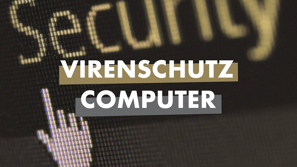 Virenschutz Computer