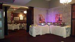 buffet in lounge