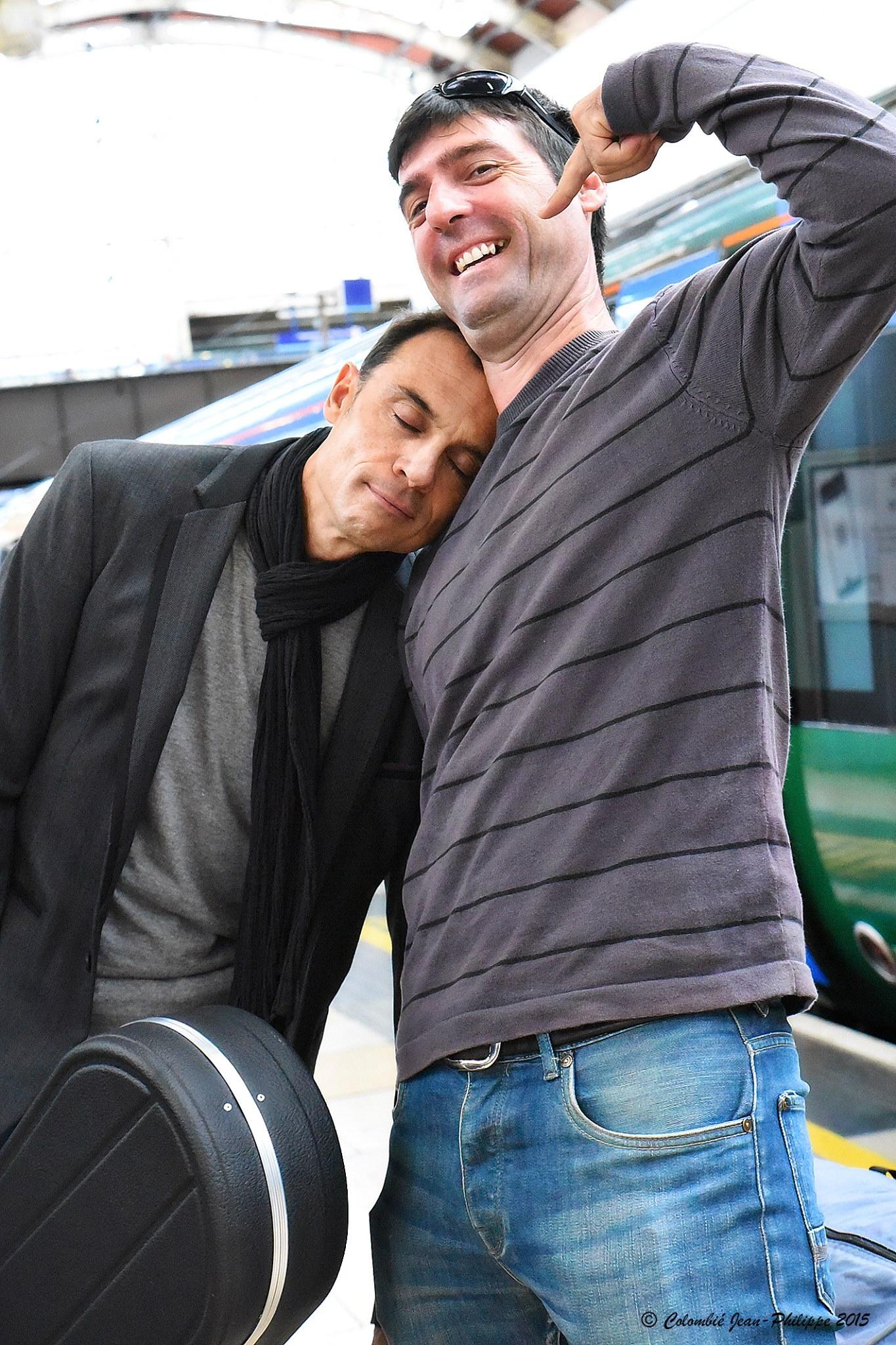 Marc Gaby Heathrow London.jpg