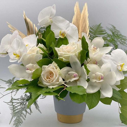 Buchet flori -White Romance