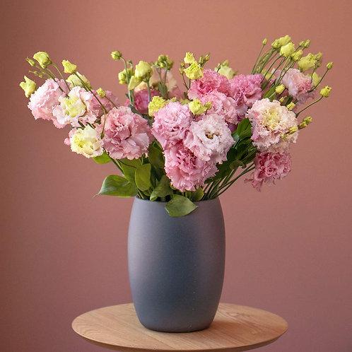Vaza - Lisianthus roz