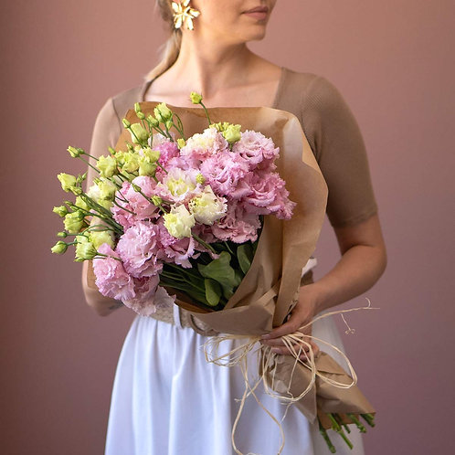 Bunch - Lisianthus roz