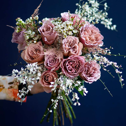 Buchete flori - trandafiri parfumati Cafe Latte