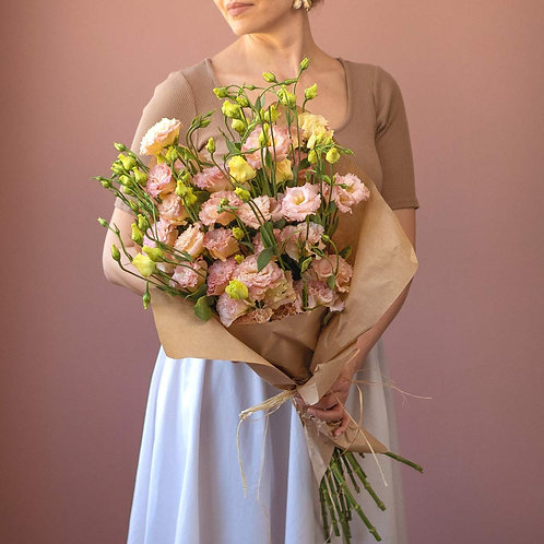 Bunch - Lisianthus champagne