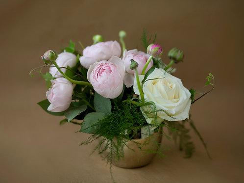 Aranjament - Peony Pink Rose
