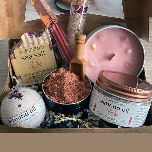 Roses-R-Red Spa Box