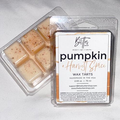 Pumpkin +Harvest Spice Wax Tart