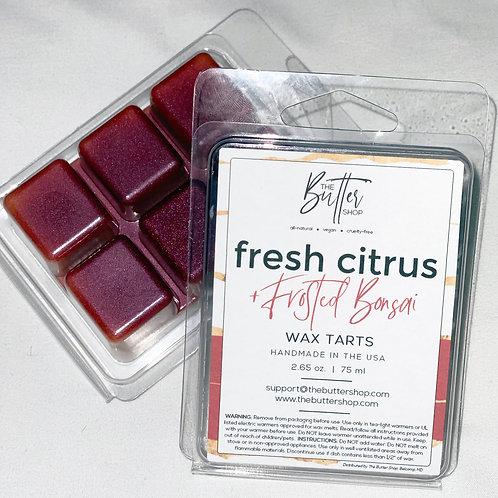 Fresh Citrus +Frosted Bonsai Wax Tart