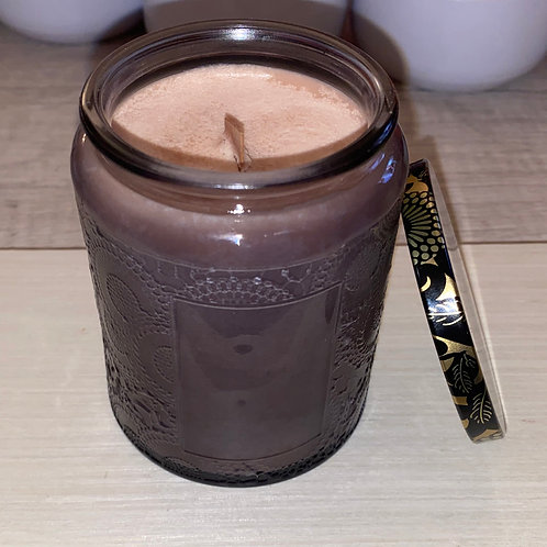 Black Cherry +Blossom Soy Candle
