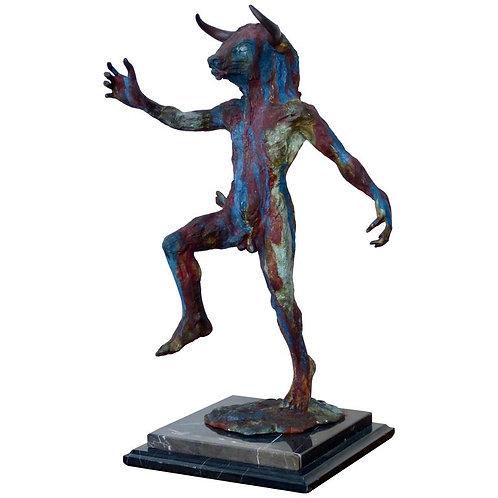 Minotauro Escultura en Bronce de Javier Hernandez Capelo